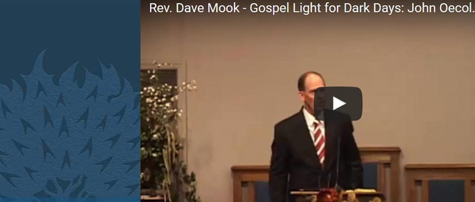 Rev. Dave Mook lectures for GRS